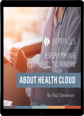Simplus healthcloud ebook cover